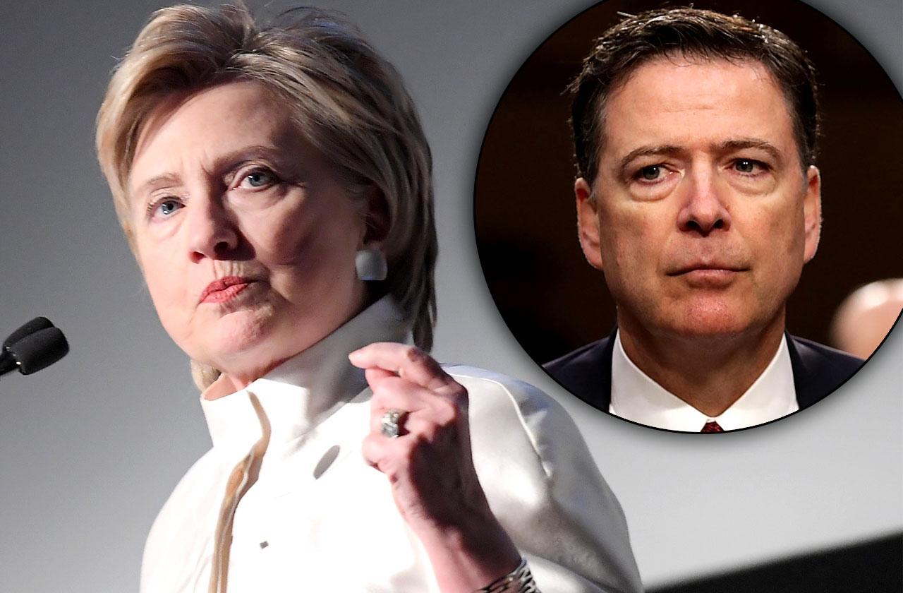 //Hillary clinton memoir blames james comey pp