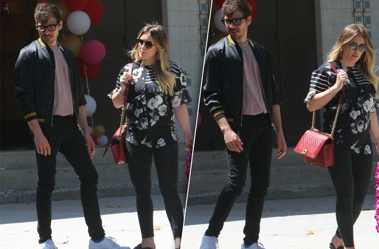 Hilary Duff & Matthew Koma Pregnancy Sighting