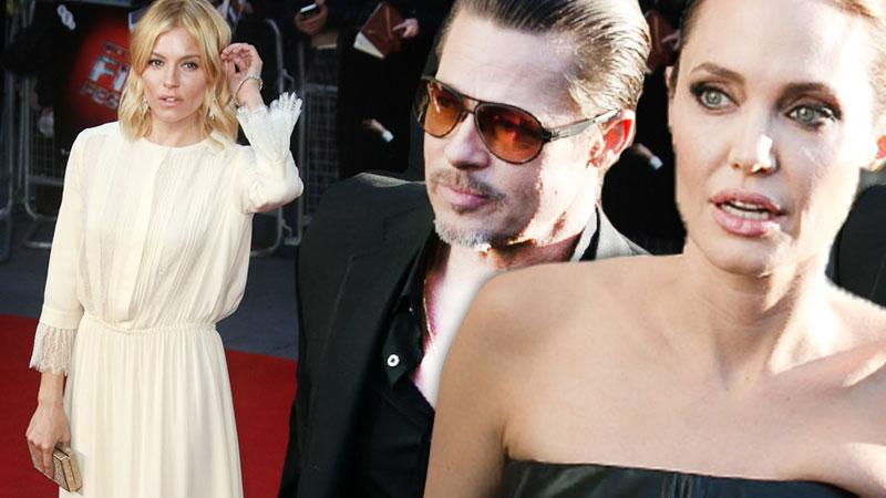 Angelina Jolie Brad Pitt Marriage Trouble -- Jealousy Over Sienna Miller