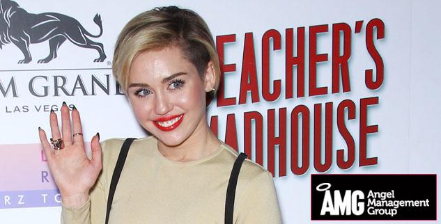 Miley Cyrus Beacher's Madhouse Las Vegas