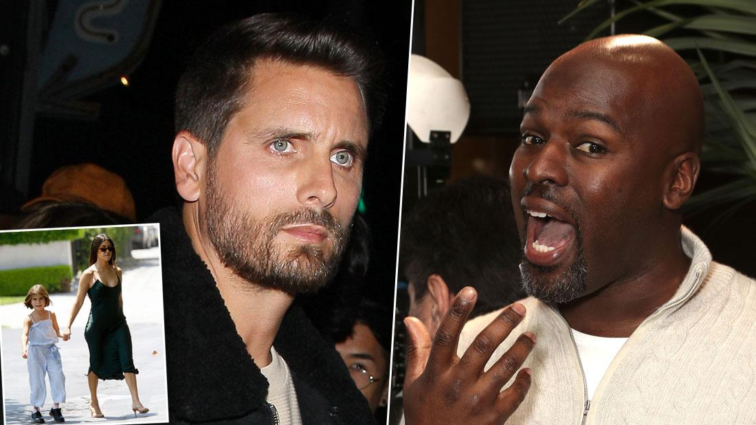 'KUWTK': Scott Disick Fights With Corey Gamble Over Penelope Comment