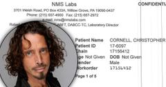 Chris Cornell Suicide Hanged Death Toxicology Report