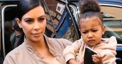 Kim Kardashian Friends Visit Saint West Daughter North West
