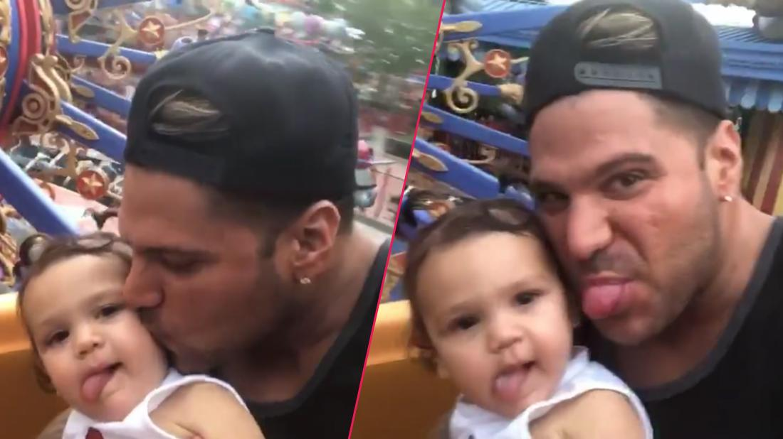 Ronnie Ortiz-Magro Takes Daughter To Disney World After Emergency Order Lifted