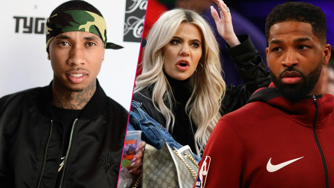 tyga was married to tristan thompson baby mama