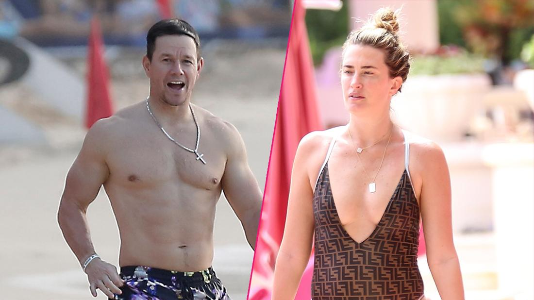 //Mark Wahlberg Wife Rhea Durham Rock Their Toned Bodies on the Beach featured
