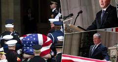 George H W Bush Funeral Service Photos