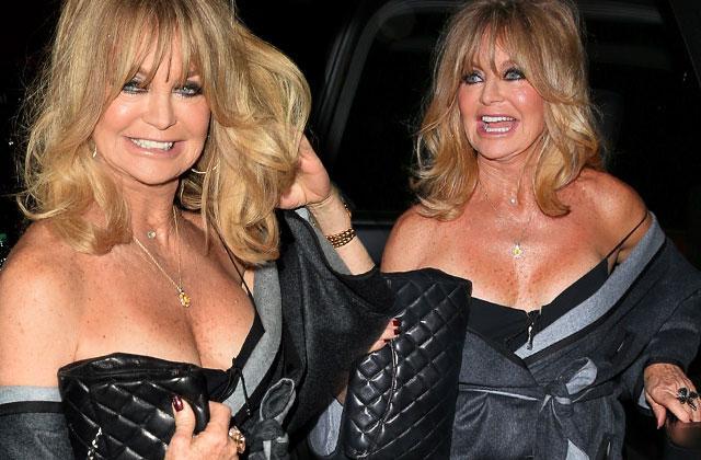 Goldie Hawn Cleavage Birthday Age Kurt Russel Pics