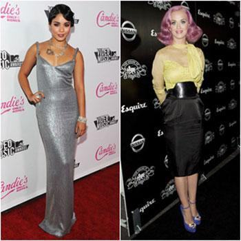 //vanessa hudgens katy perry vma wireimage michael bezjian
