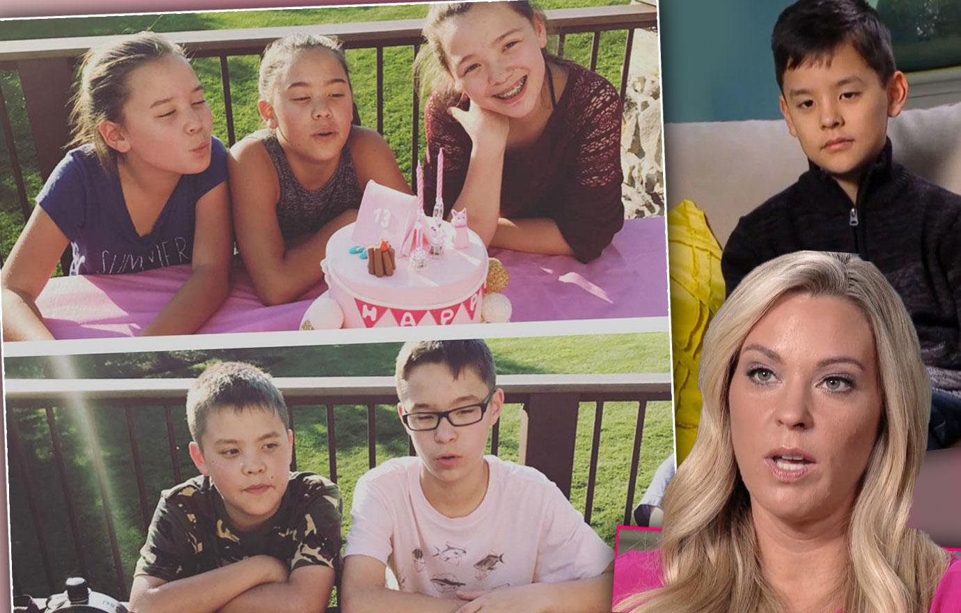 Kate Gosselin Celebrates Sextuplets Birthday Without Collin