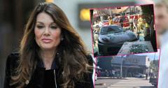 Car Wreck! Ferrari Crashes Into Lisa Vanderpump's West Hollywood Restaurant