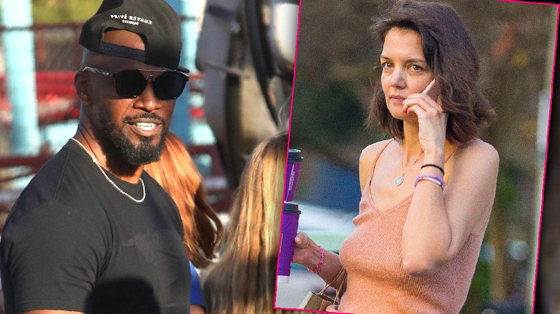Jamie Foxx New Galpal Sela Vave At Cookoff Amid Katie Split
