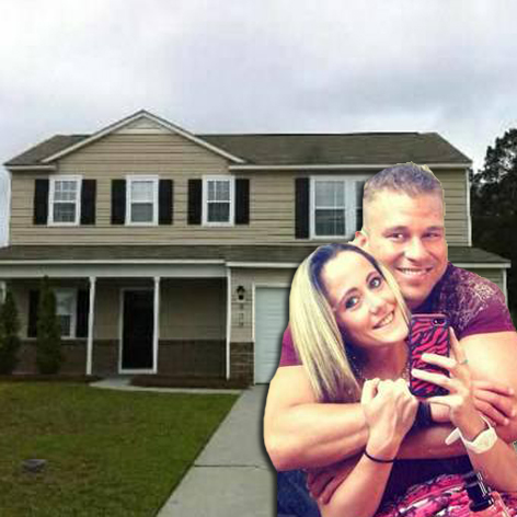 //jenelle evans nathan griffith new house