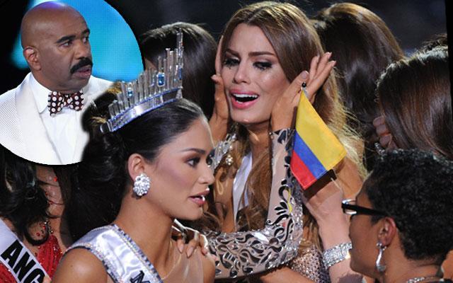 Steve Harvey Announces Wrong Miss Universe Winner