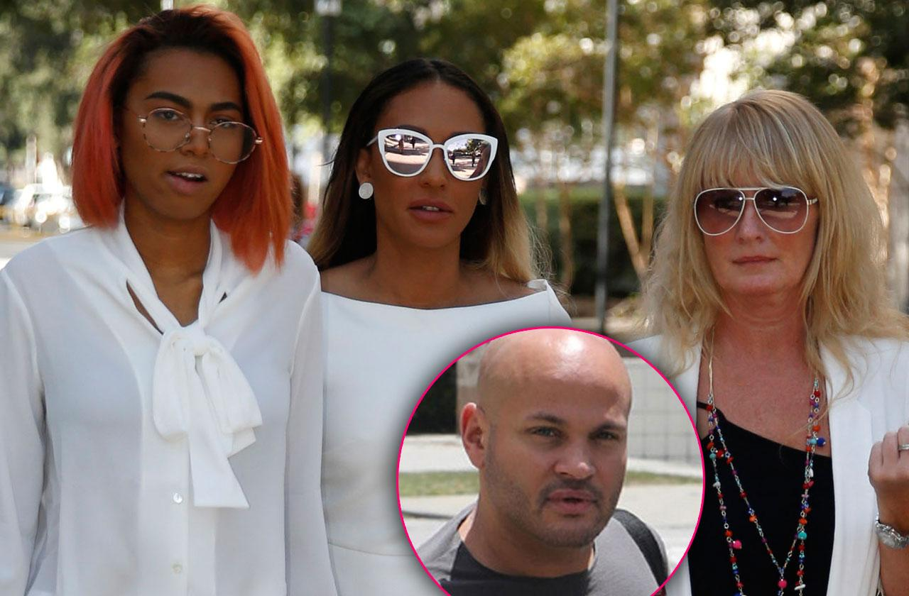 Mel B Leans On Family To Get Through Nightmare Stephen Belafonte Divorce