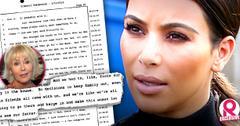 //kim kardashian claims stepmom ellen changed locks dying father robert house wide