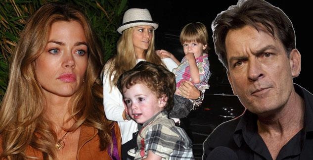 Denise-Richards-Doesn't-Want-Sheen's-Twins-Strangled-Scratched-My-Daughter