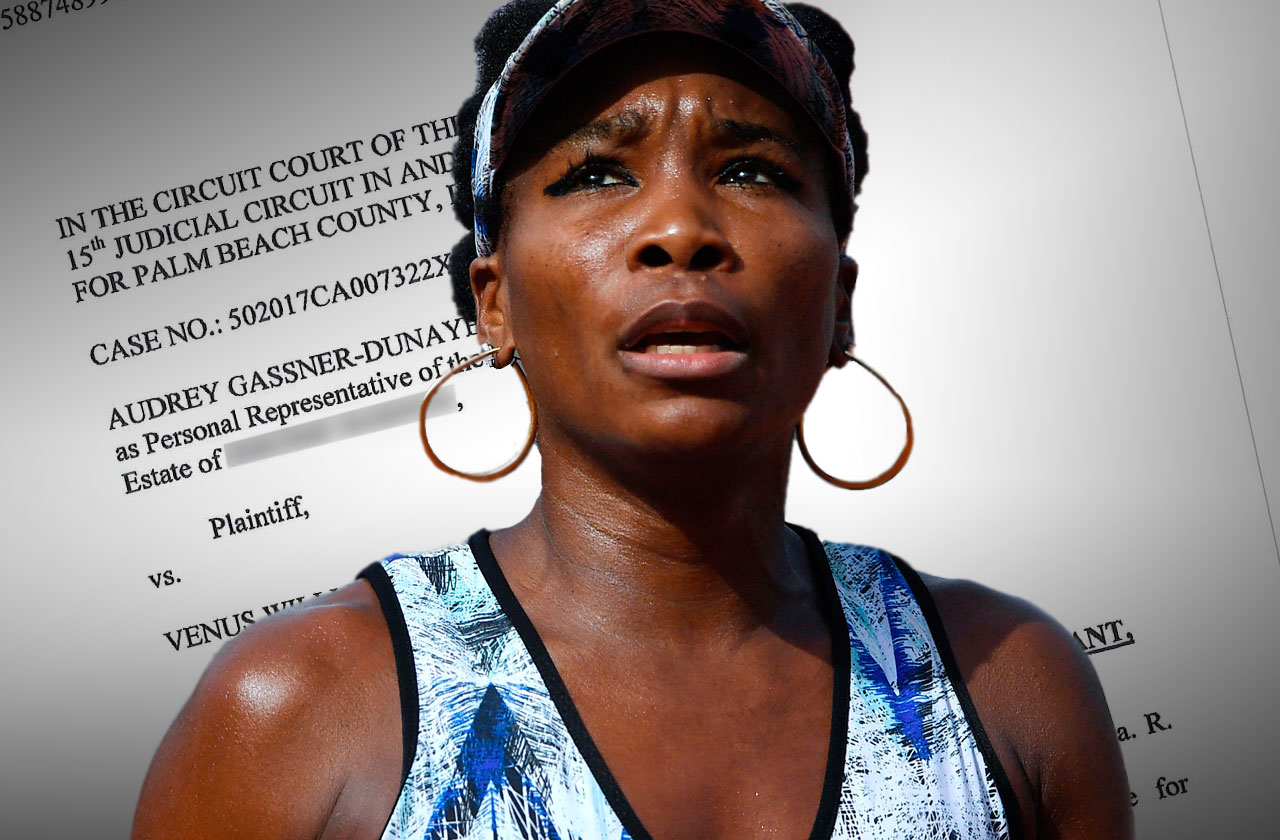 venus williams fatal car accident wrongful death lawsuit medical records