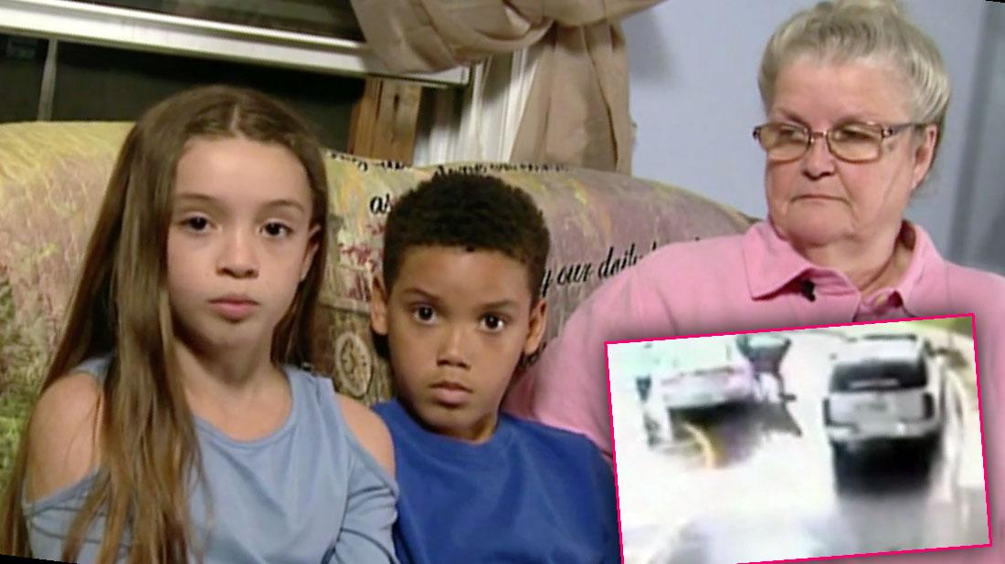 8 Year Old Hero Saves Older Sister From Heroin Addict