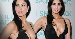 Sarah Silverman Boobs Cleavage Dress