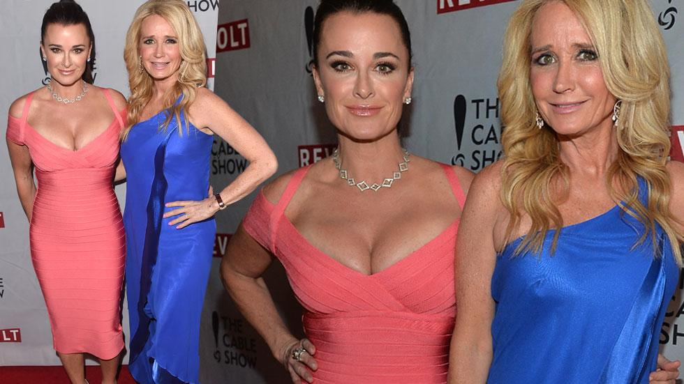 Kyle Richards Pays Tribute To Sister Kim Richards On National Siblings Day
