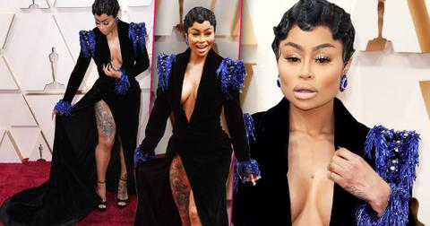 Blac Chyna Flaunts Oscars Look Despite Being Named Worst Dressed