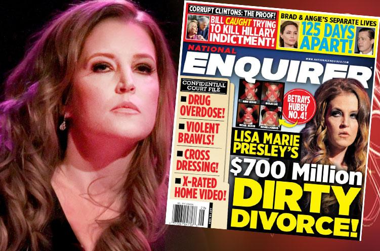 lisa marie presley divorce drug overdose cross dressing