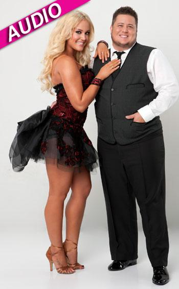//lacey schwimmer chaz bono dancing with the stars audio getty