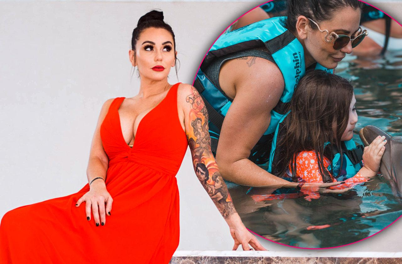 //jwoww jersey shore family vacation pp