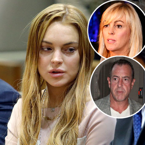 //lindsay michael dina lohan square getty