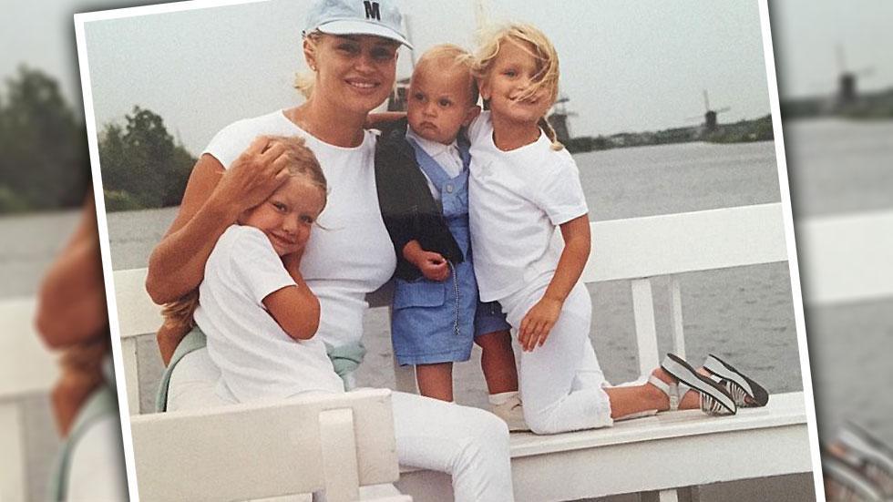 Yolanda Foster Lyme Disease Throwback Photo