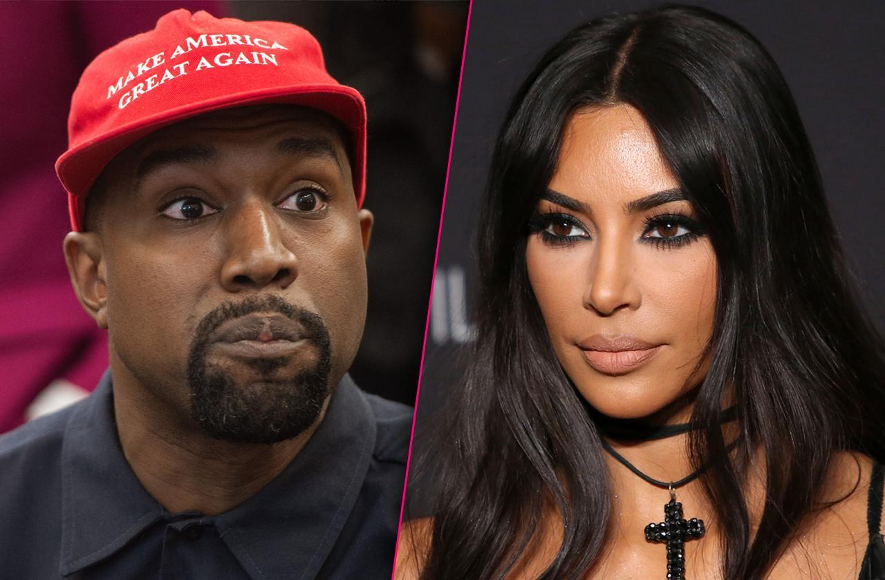 Kim Kardashian Controlling Crazy Kanye West Amid Bizarre Behavior