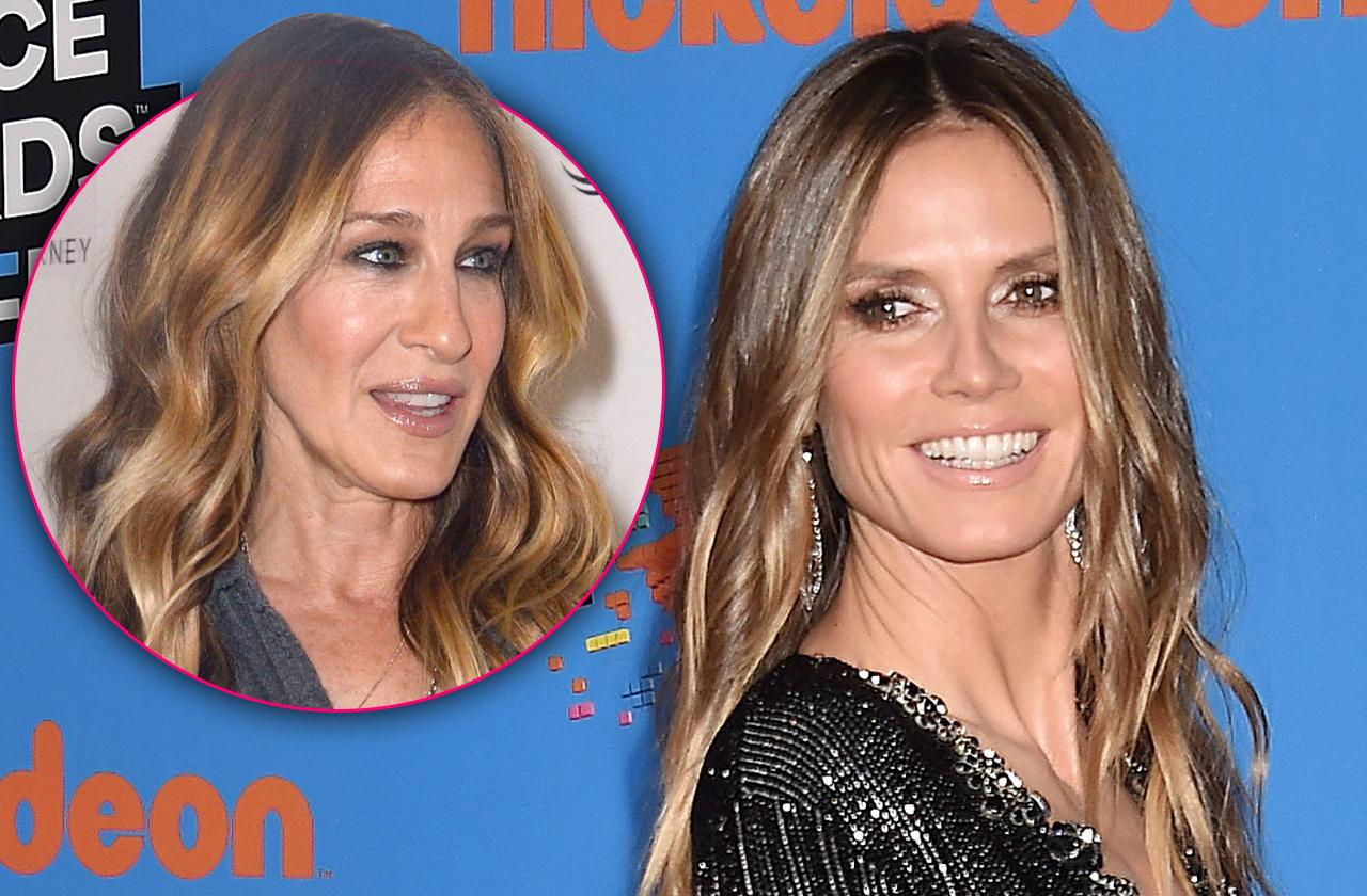 Heidi Klum Ready To Replace Kim Cattrall In 'Sex And The City 3'