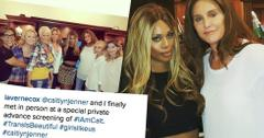 Caitlyn Jenner Laverne Cox Photos