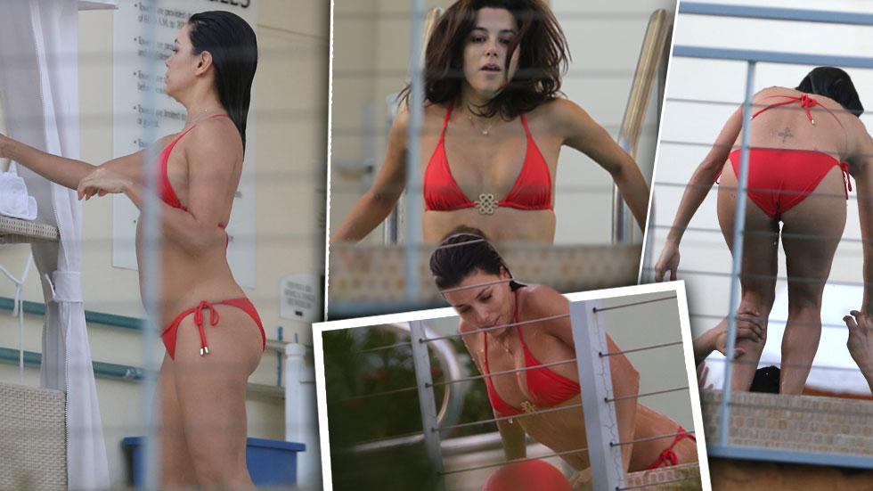 //eva longoria red bikini gallery