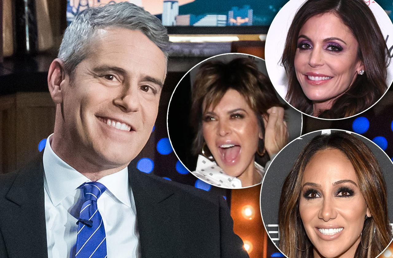 Andy Cohen Welcomes Son Photo Real Housewives React