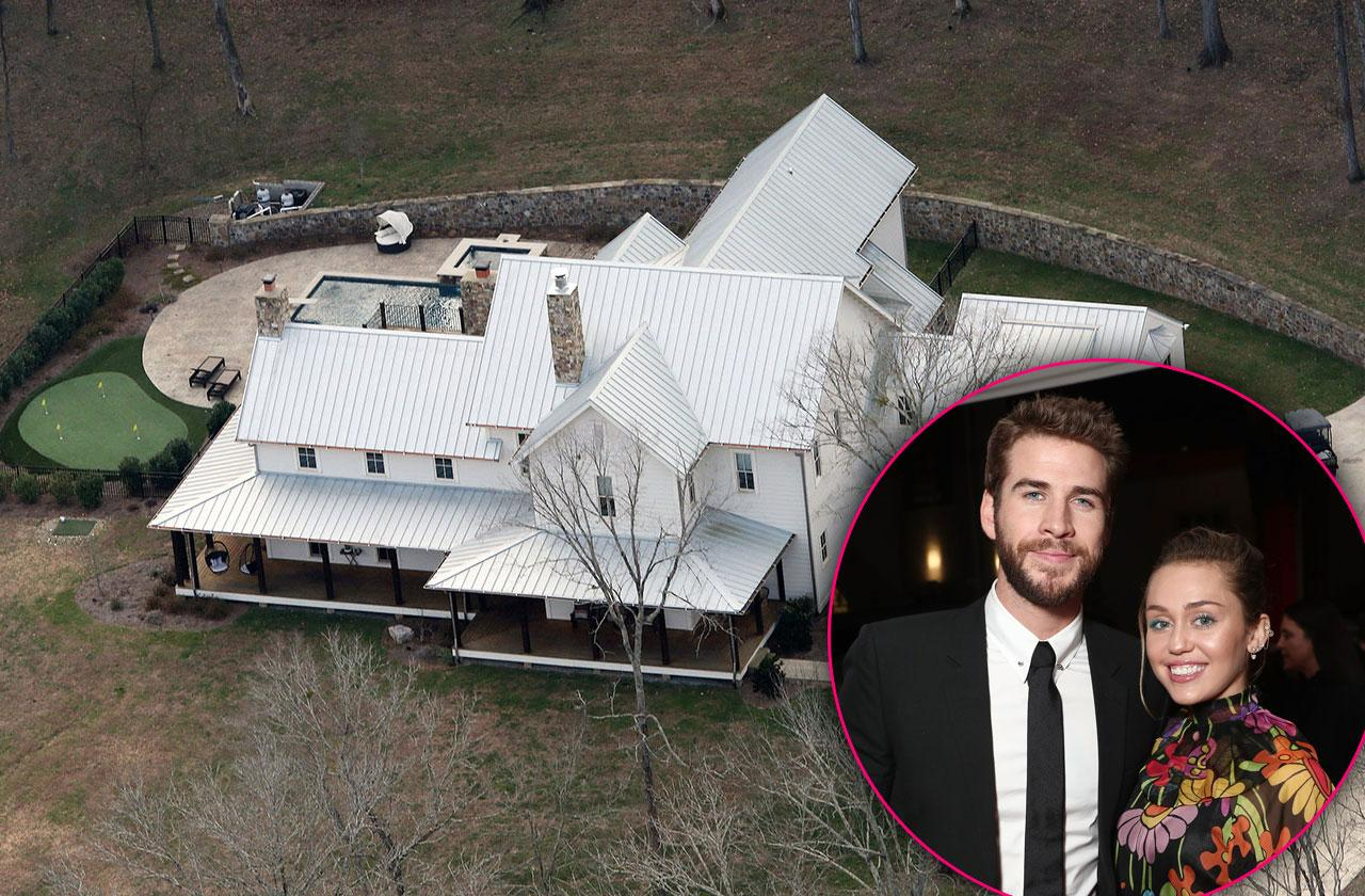 Miley Cyrus Liam Hemsworth Buy Tennessee Farmhouse