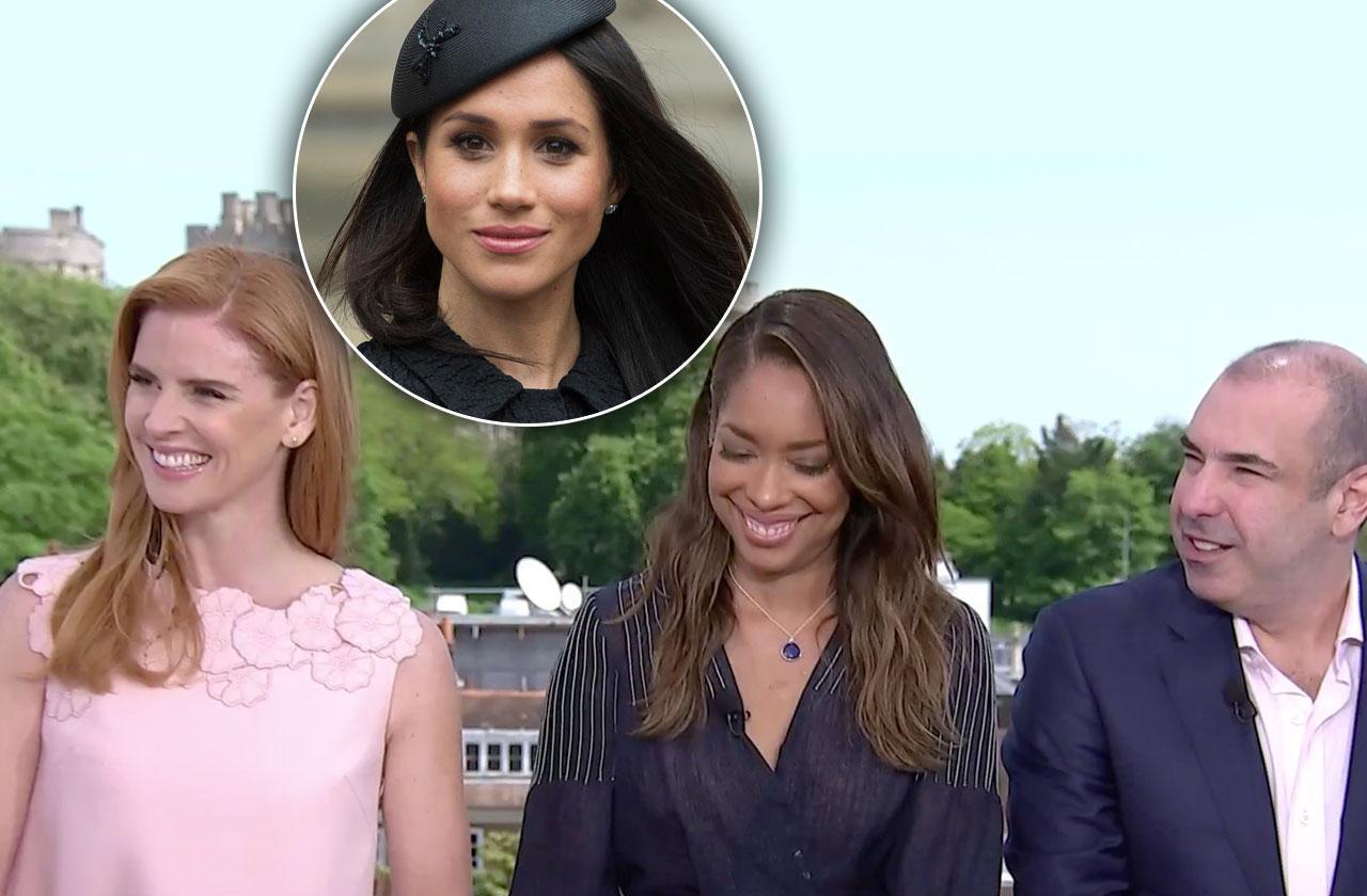 Meghan Markle 'Suits' Co-Stars Royal Wedding