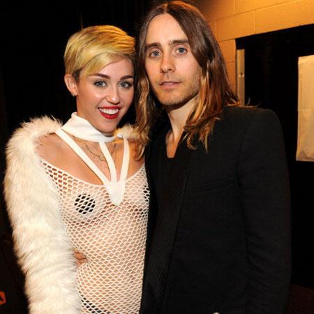 //jared leto and miley cyrus pp