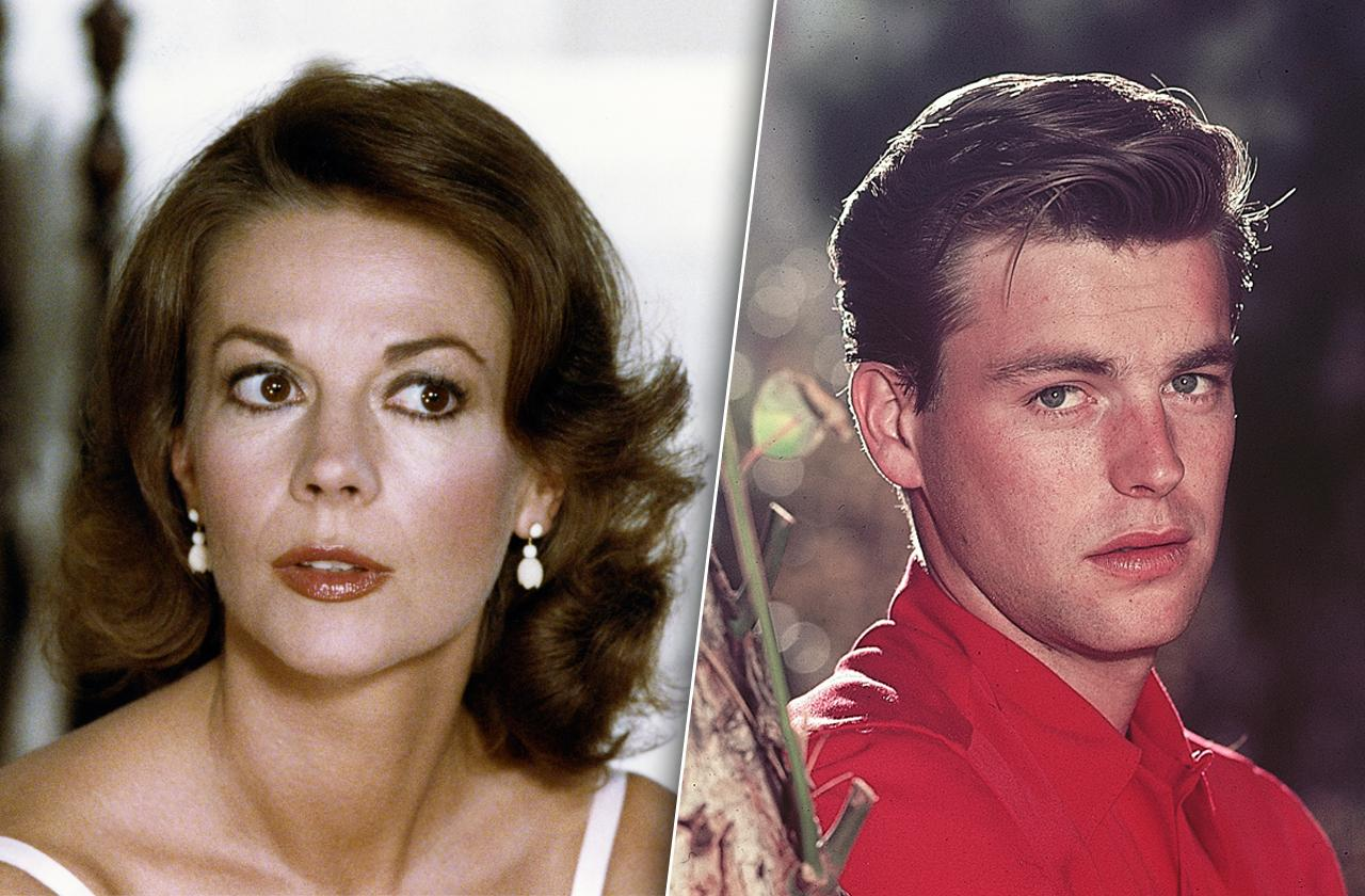 Natalie Wood and Robert Wagner.