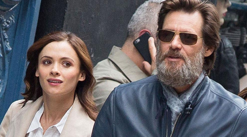 Jim Carrey Cathriona White In Happier Times Before Suicide