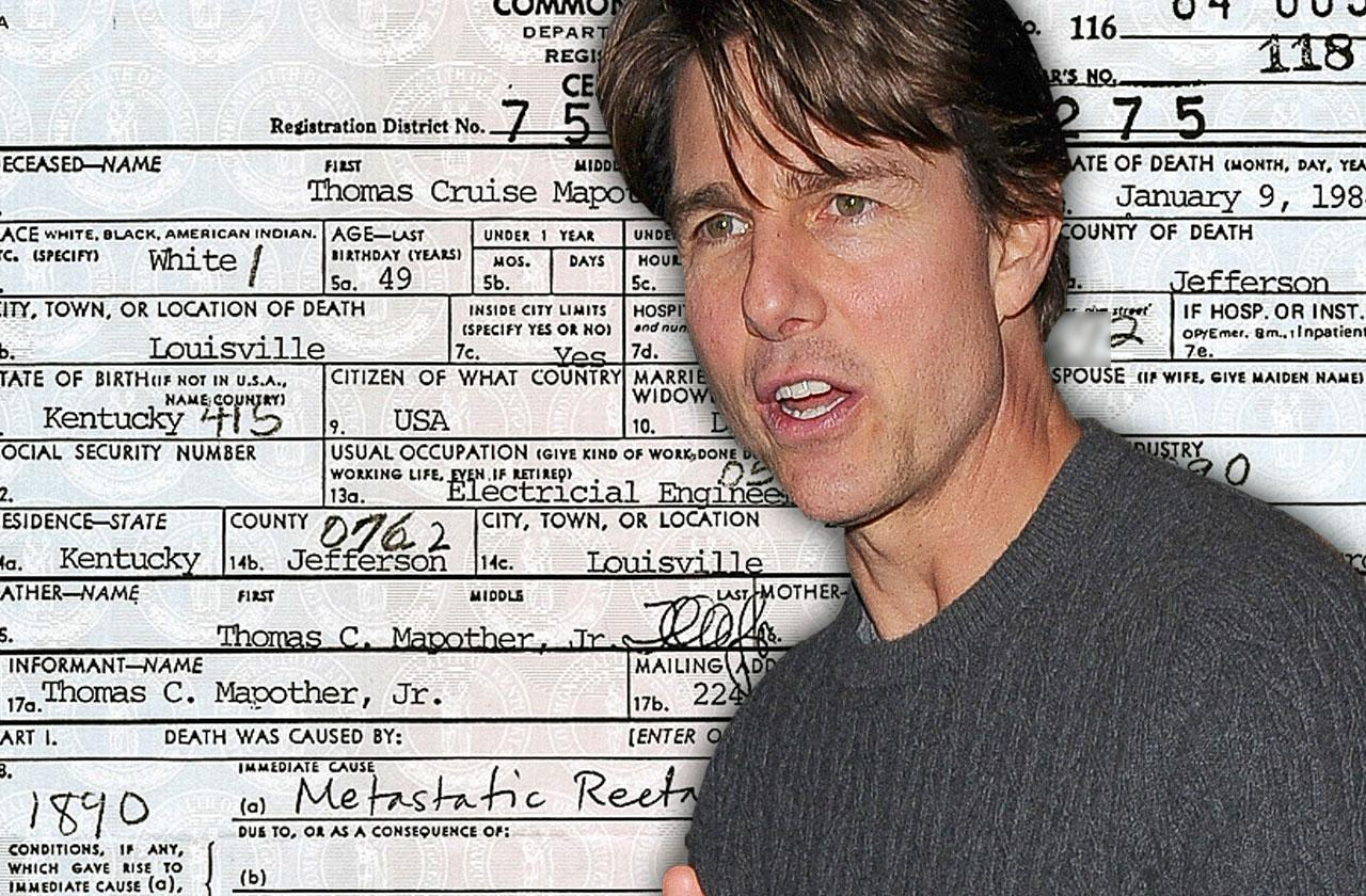 //tom cruise dad thomas mapother iii colorectal cancer pp