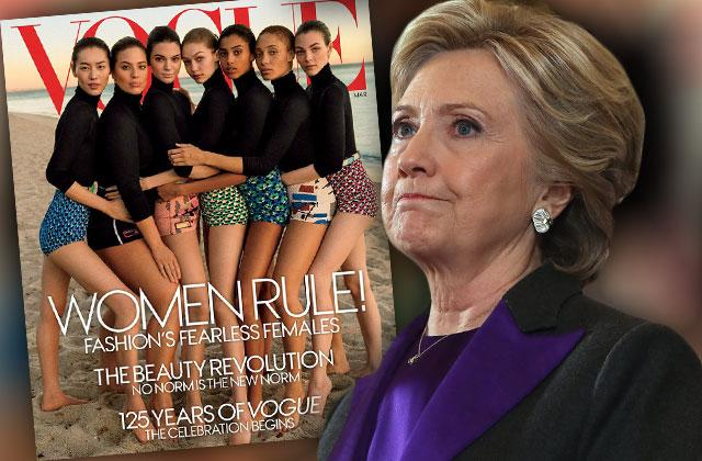 //hillary clinton vogue cover election loss