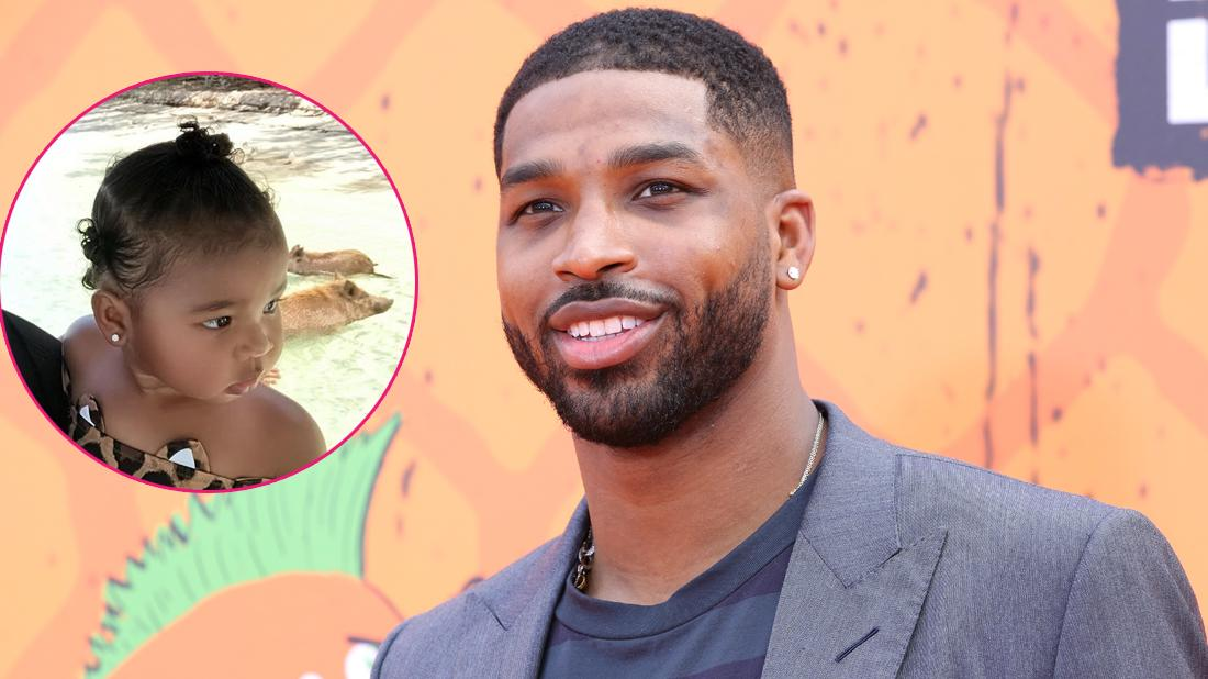 Tristan Thompson Shares Touching Video Of Daddy Daughter Date With True