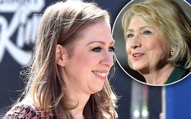 Chelsea Clinton Pregnant Again Hilary Grandmother
