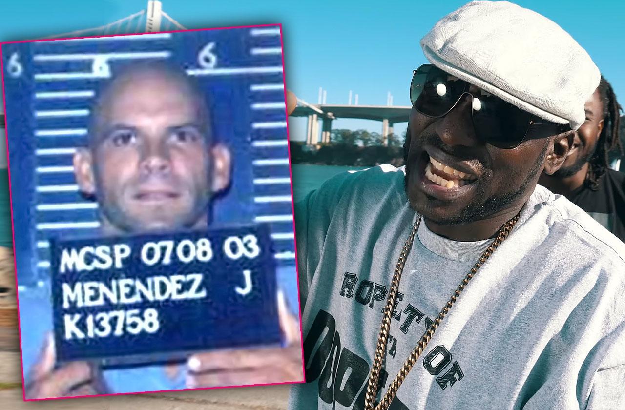 Lyle Menendez murderer reality show prison x raided