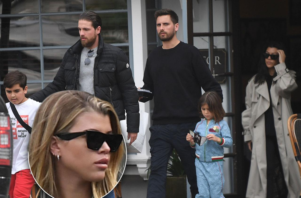 Kourtney Kardashian Scott Disick Sofia Richie Vacation Together
