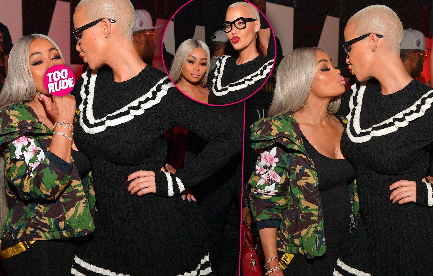 Blac Chyna And Amber Rose Join Forces In Atlanta