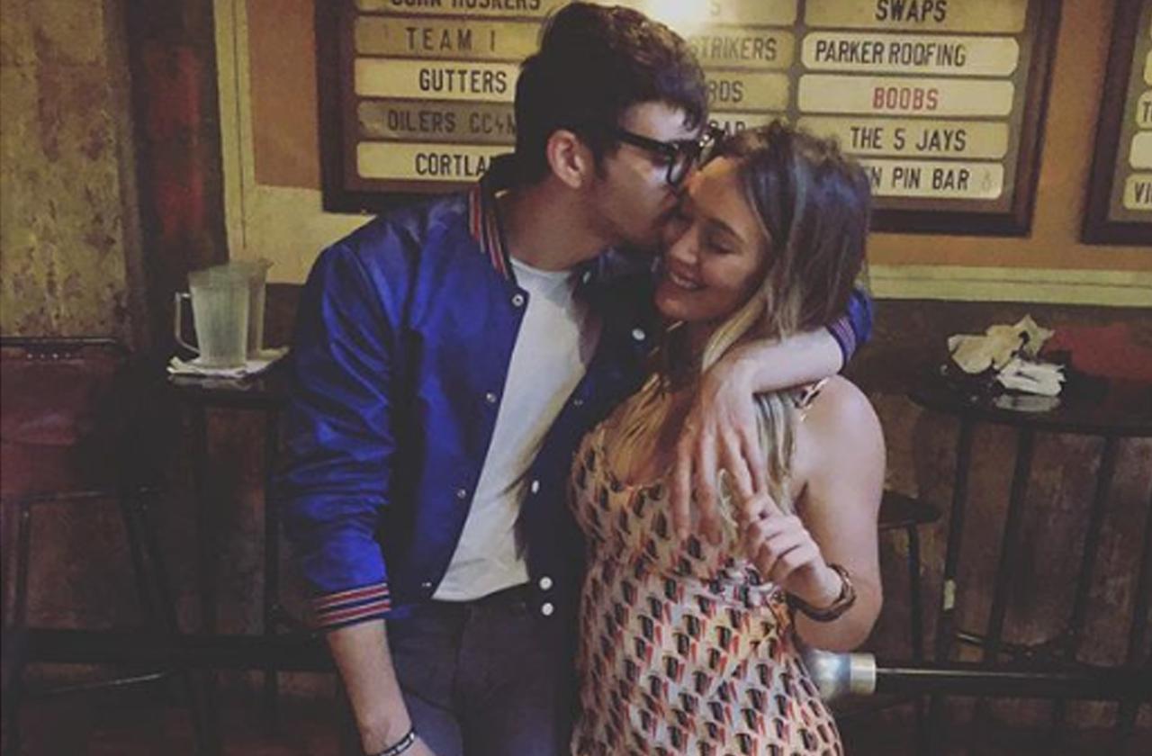 Hilary Duff Pregnant Girl Boyfriend Matthew Koma