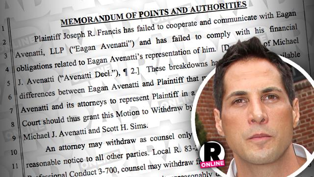 Joe Francis Lawyers Quit
